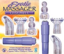 Erotic Massager Ensemble Lavender