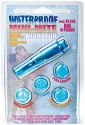 Waterproof mini mite vibrator w/4 attachments