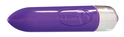 7 Speed RO-80mm Bullet Vibrator Purple