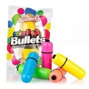 Color Pop Bullet Vibrator Neon Orange