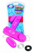 Cloud 9 Vibrating Pleasure Bullet Pink