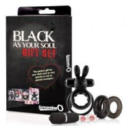 Screaming O Black As Your Soul Gift Set